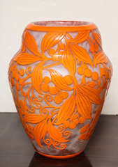 Daum Nancy Rare Art Deco Vase image 3