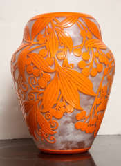 Daum Nancy Rare Art Deco Vase image 5