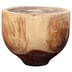 Organic Lychee Wood End Tables
