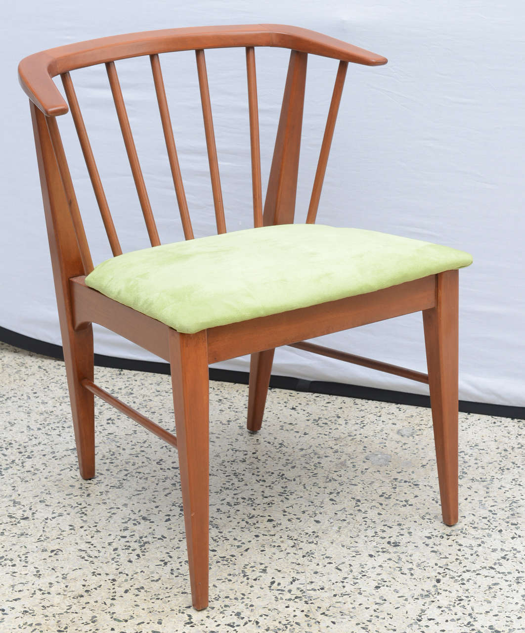 Pair of wegner style teak chairs 1960s denmark for sale for Sixties style chairs