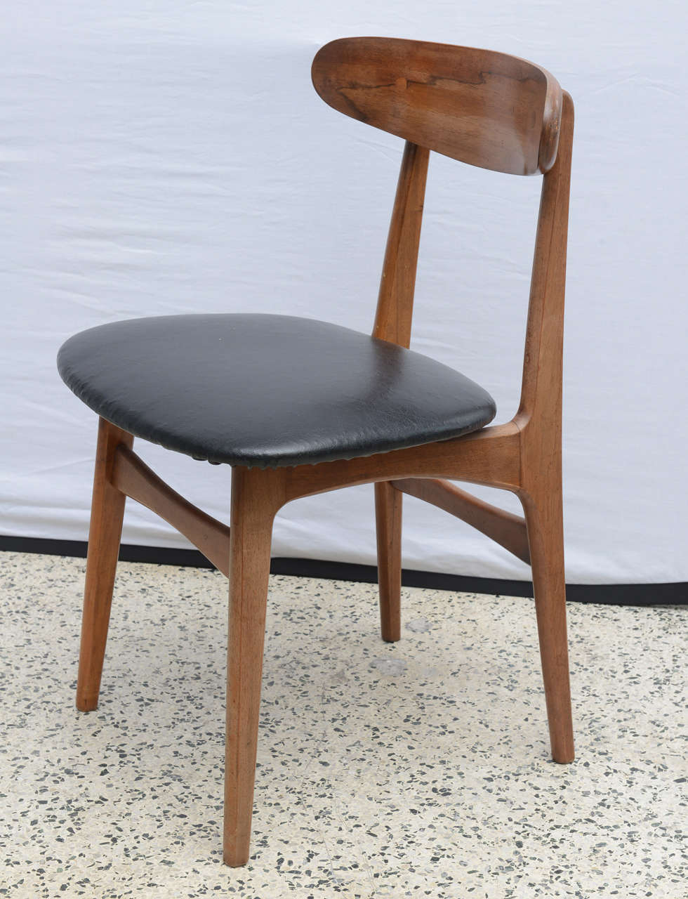 Merveilleux Danish Set Of 10 Dining Chairs Attributed To Hans Wegner Late 60u0027s Denmark  For Sale