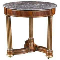 Early 19th Century Marble-Top Table
