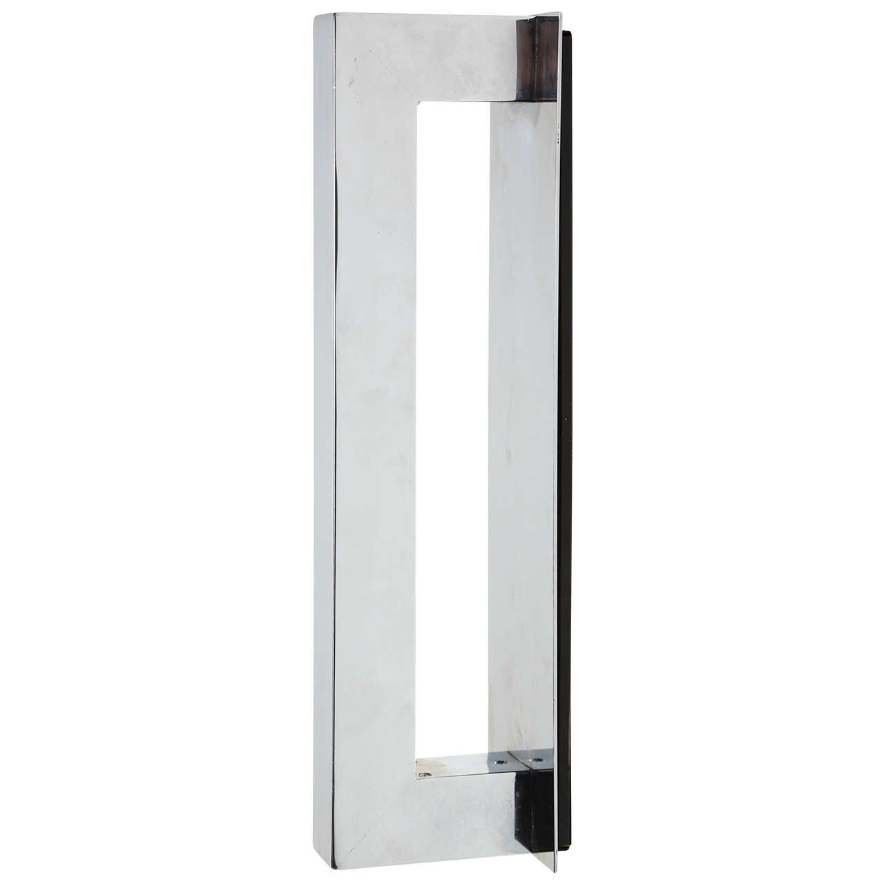 Vertical or Horizontal Chrome Sconce