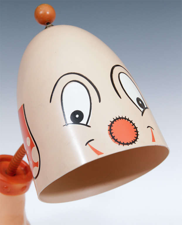 40 Best French Country Furniture Images On Pinterest: Pair George Nelson Boy And Girl Cartoon Dog Table Lamps At