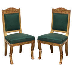 Pair of Early 19th Century French Chairs