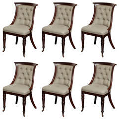 Set of Six, 19th Century English Chairs