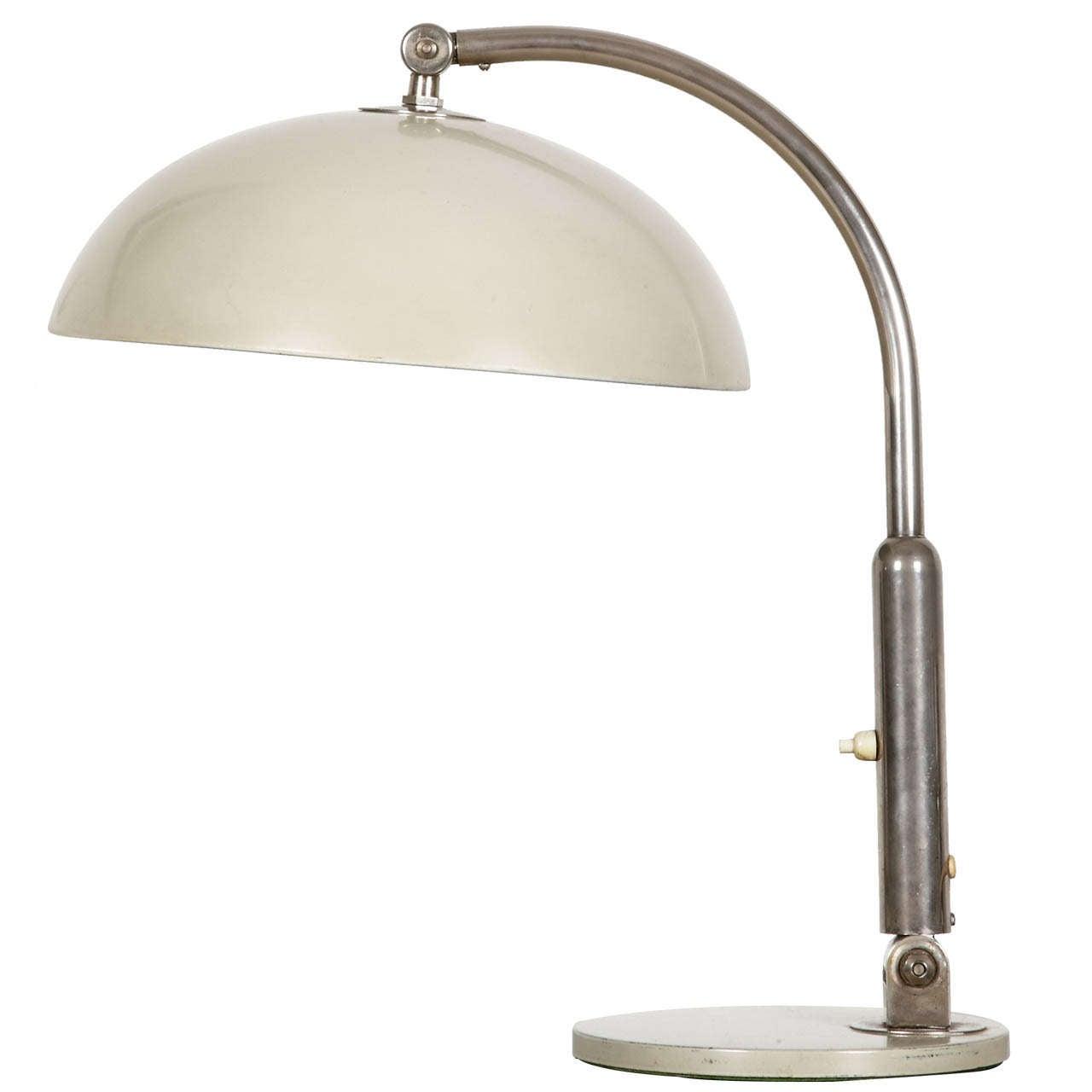Bauhaus Table Lamp Hala designed by Busquet Circa 1930 at 1stdibs