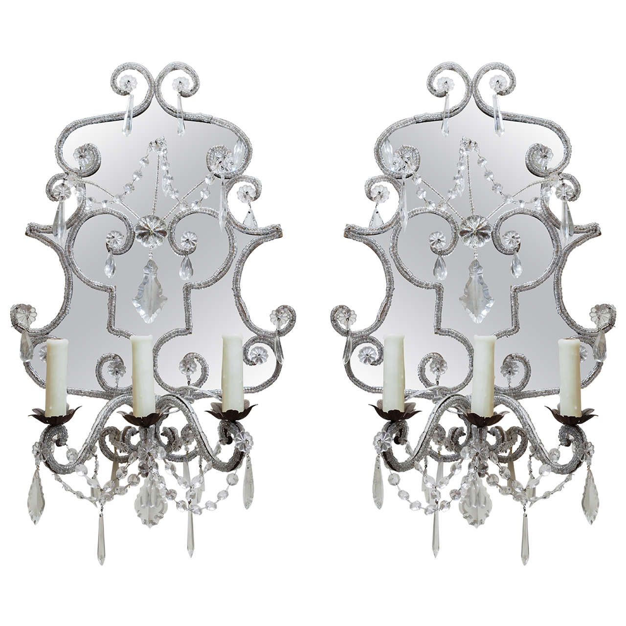 Pair of Early 19th Century Venetian Sconces