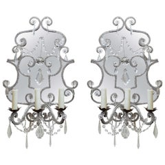 Pair of Venetian Sconces, circa 1800