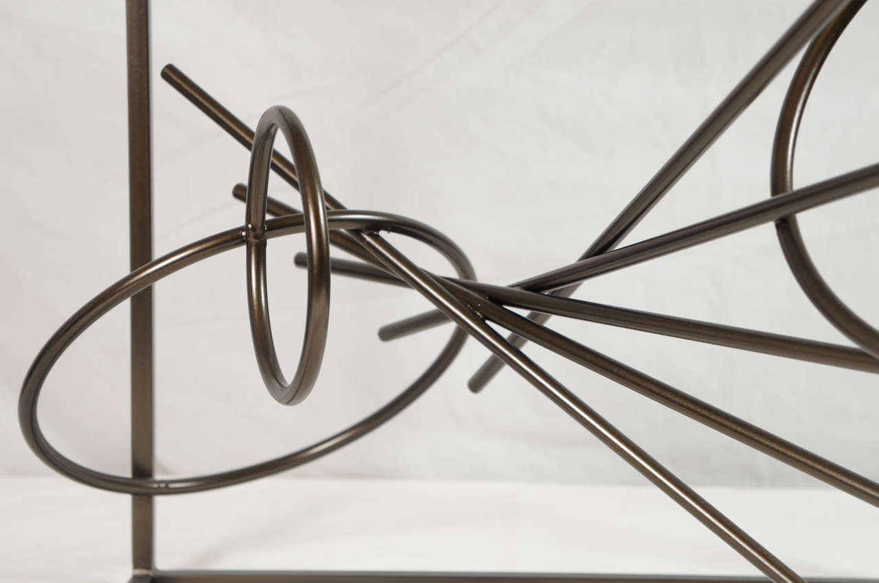 Contemporary Original Custom-Made in America, One of a Kind Sculptural Table by Lou Blass For Sale