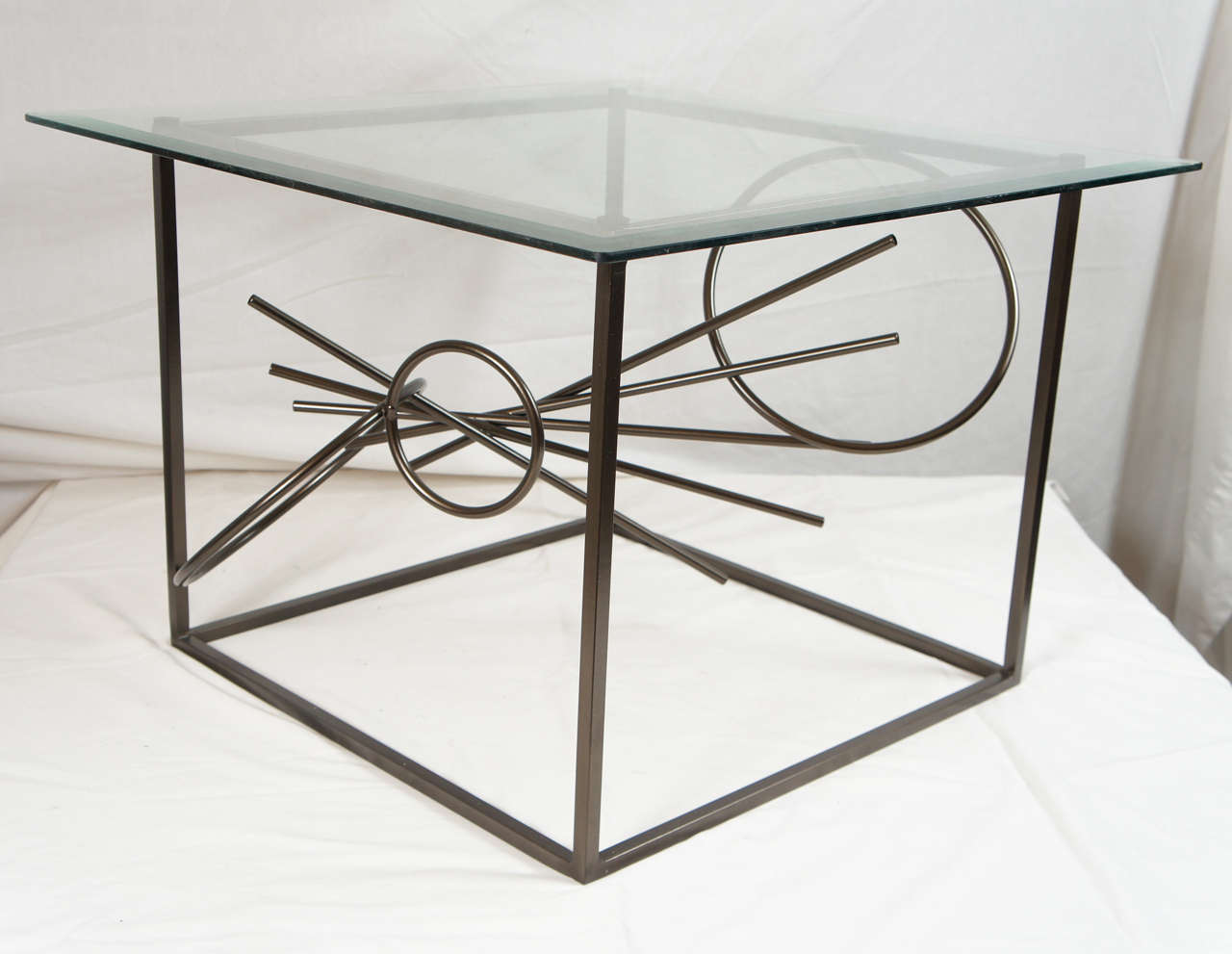 Original Custom-Made in America, One of a Kind Sculptural Table by Lou Blass For Sale 1