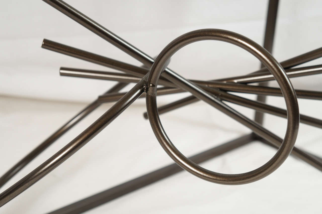 Original Custom-Made in America, One of a Kind Sculptural Table by Lou Blass For Sale 2