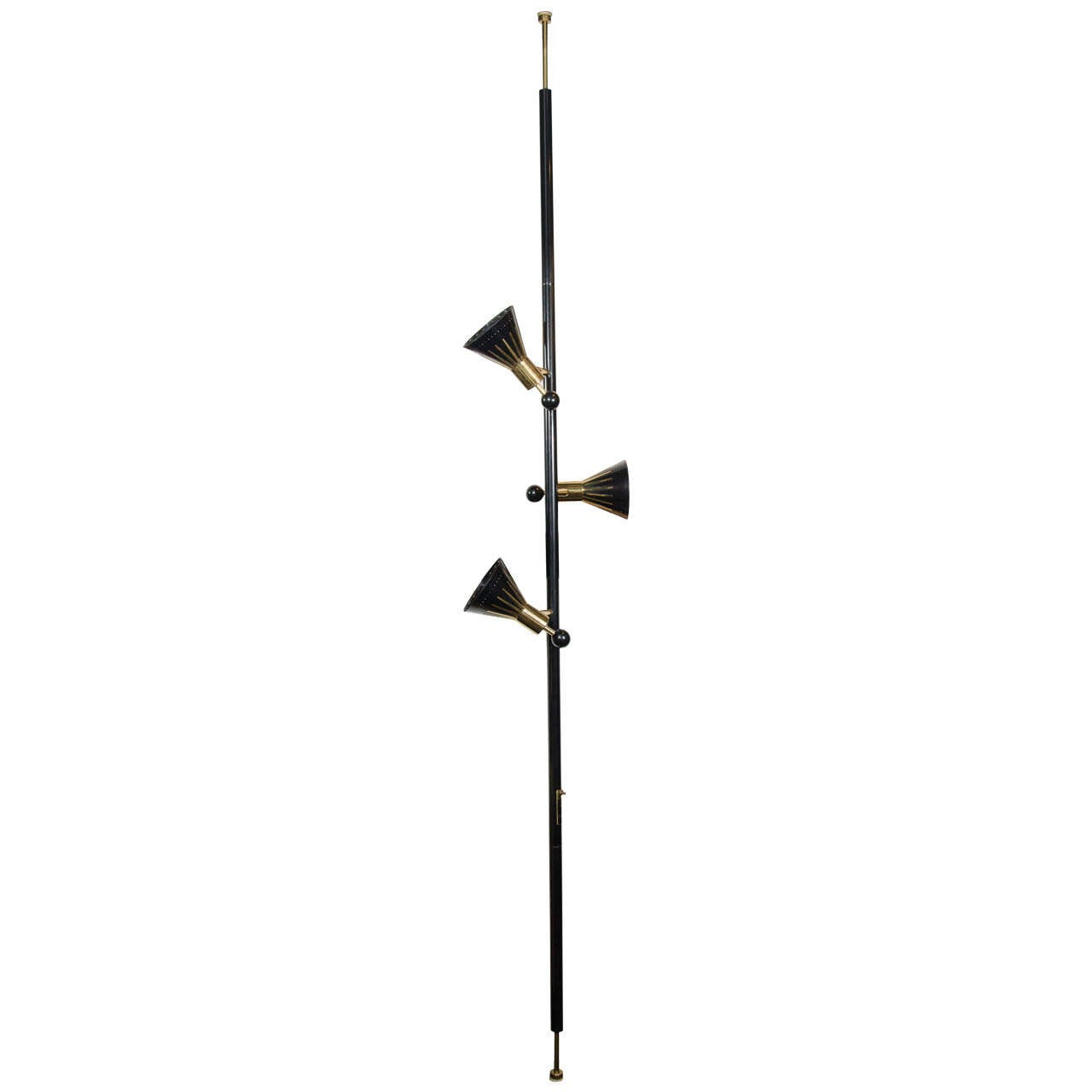 how to fix a floor lamp pole