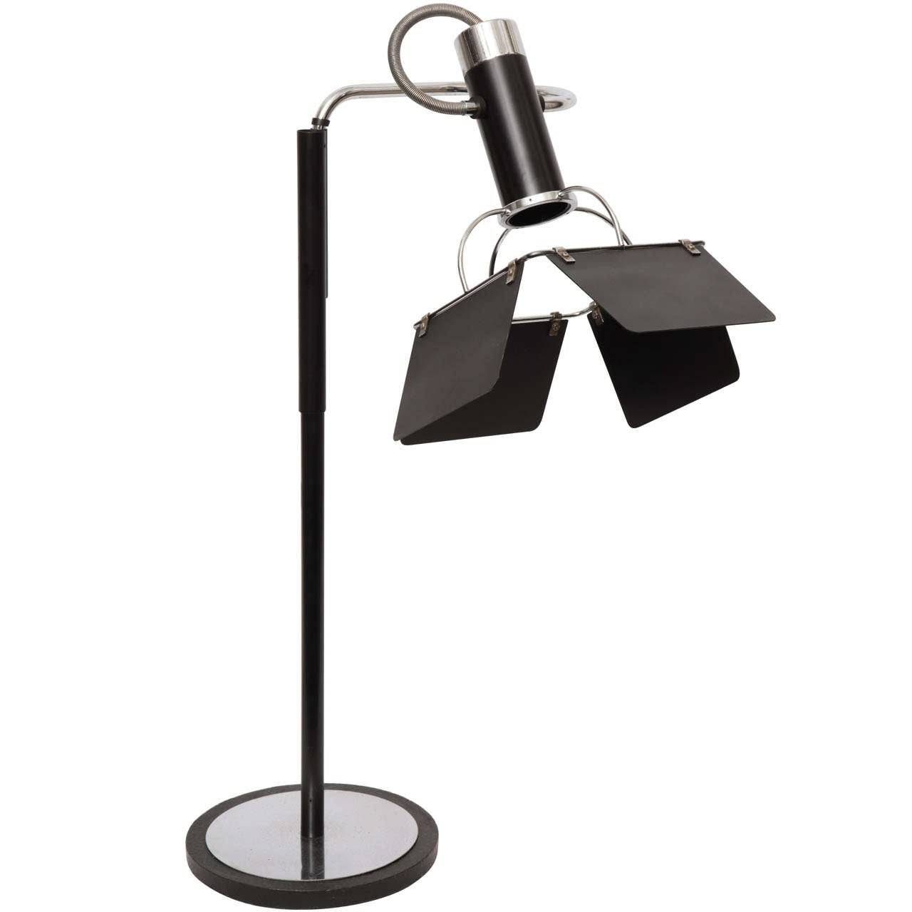 A 1930s American Modernist Articulated Table Lamp