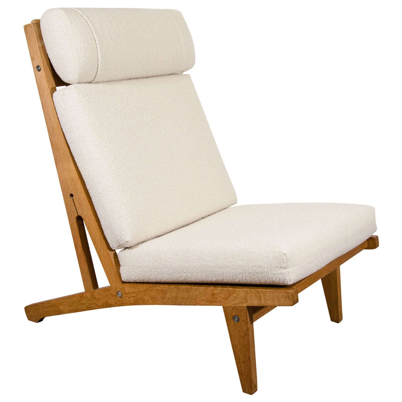 Beau A Mid Century Hans Wegner Lounge Chair By Getama For Sale
