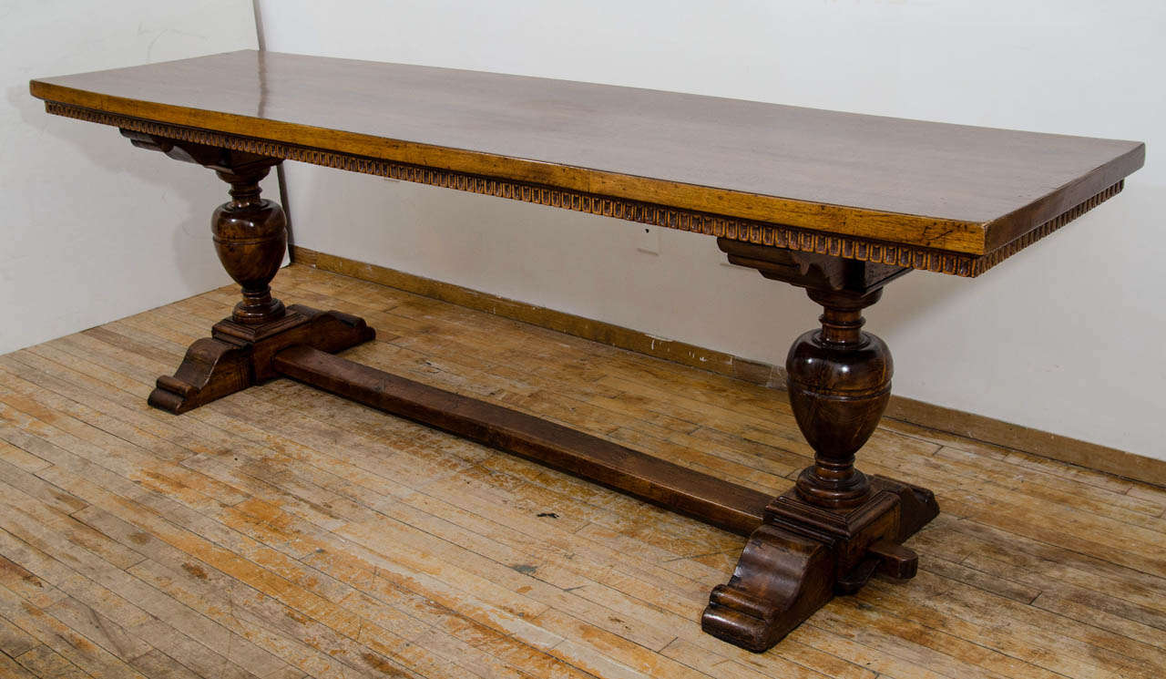 A 19th Century Italian Carved Wood Console or Dining Table  : B from www.1stdibs.com size 1280 x 745 jpeg 114kB