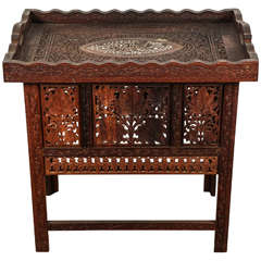 Anglo-Indian Tray Table