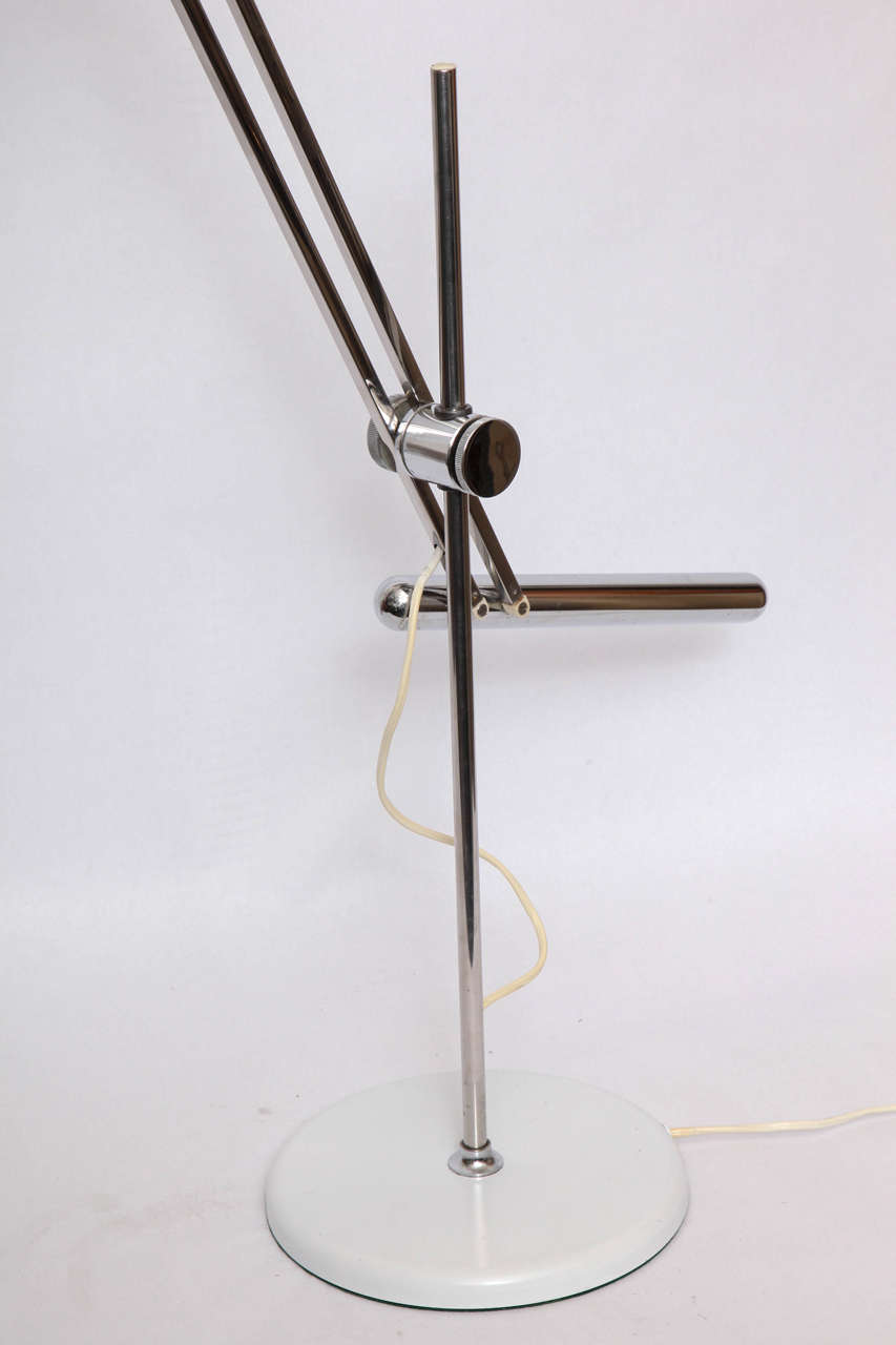 Italian  Reggiani Articulated Table Lamp Mid Century Modern Italy 1960's For Sale
