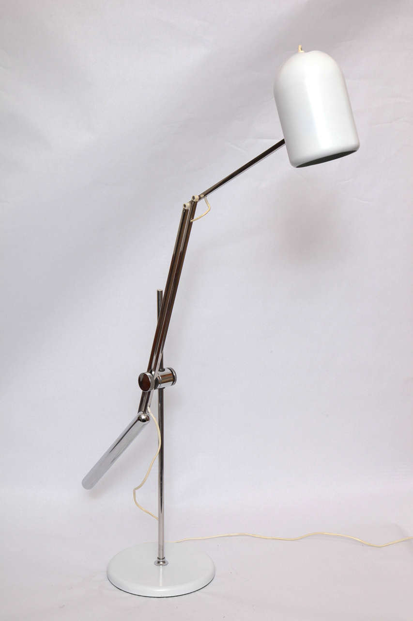 Reggiani Articulated Table Lamp Mid Century Modern Italy 1960's For Sale 1