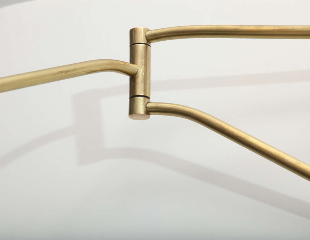 Wall Mounted Arm Lamp : Stilnovo Wall Mounted Swing Arm Lamp at 1stdibs