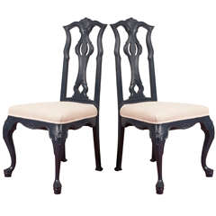 Painted Venetian-Style Side Chairs