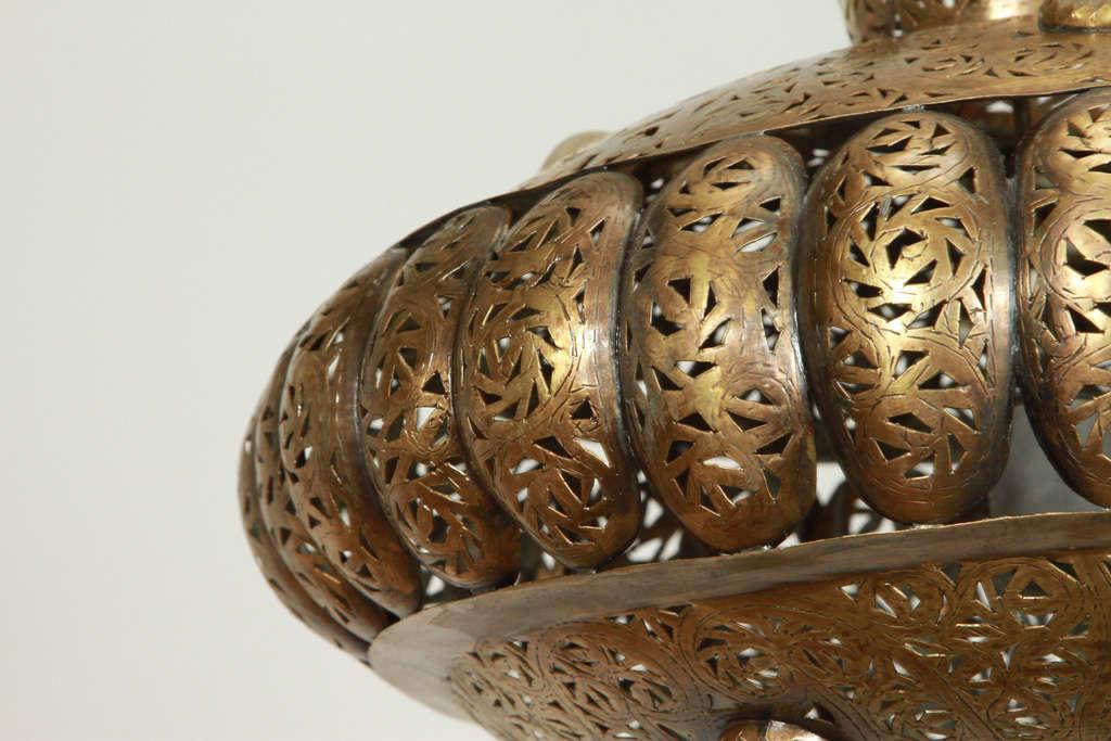 Moroccan Brass Pendants in Alberto Pinto Style / Pair 2