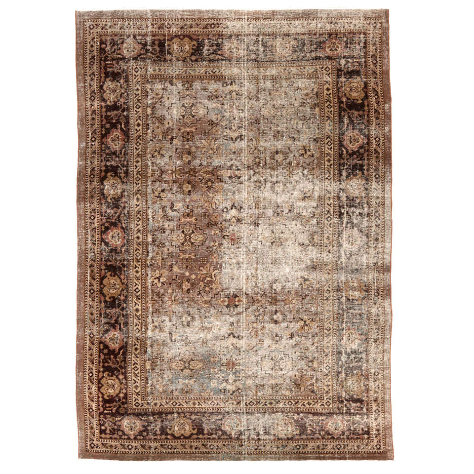 Antique Agra Rug At 1stdibs