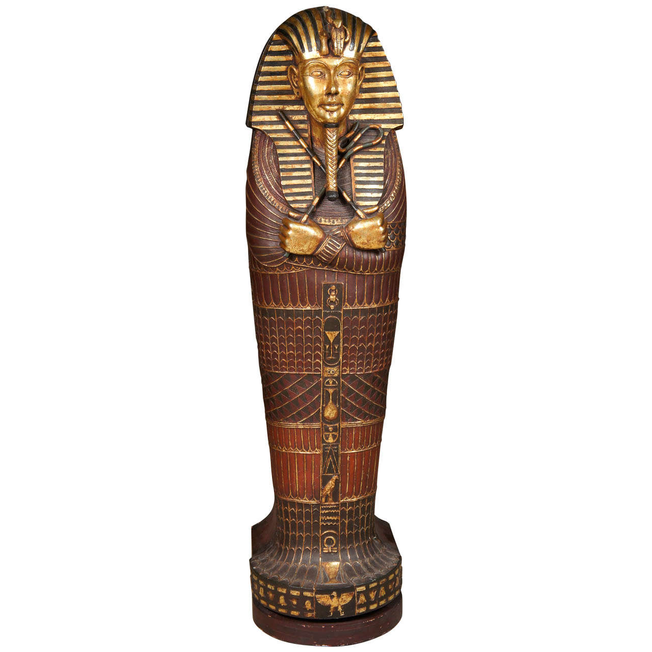 Uncategorized Pictures Of Sarcophagus egyptian mummy sarcophagus style cd cabinet for sale at 1stdibs 1