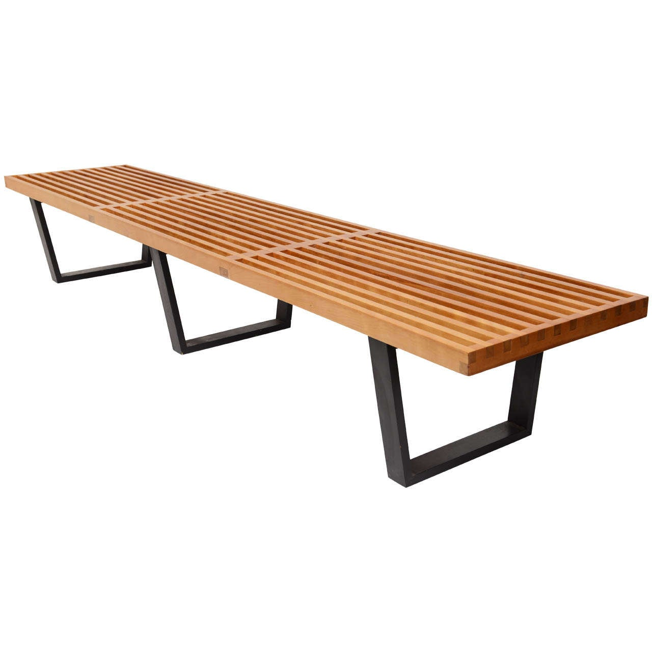 George Nelson Slat Bench 4992 At 1stdibs
