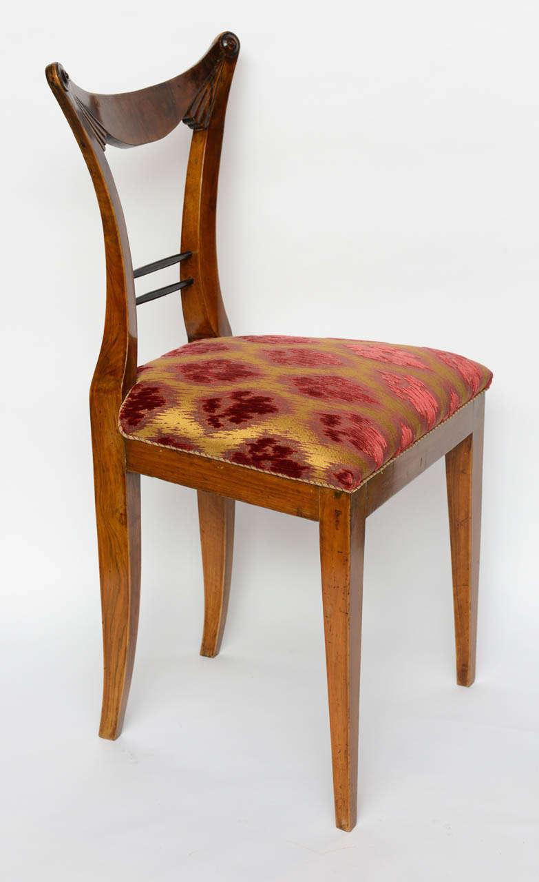 Set of Six Biedermeier Dining Chairs, Josef Danhauser, Vienna In Excellent Condition For Sale In Miami, FL