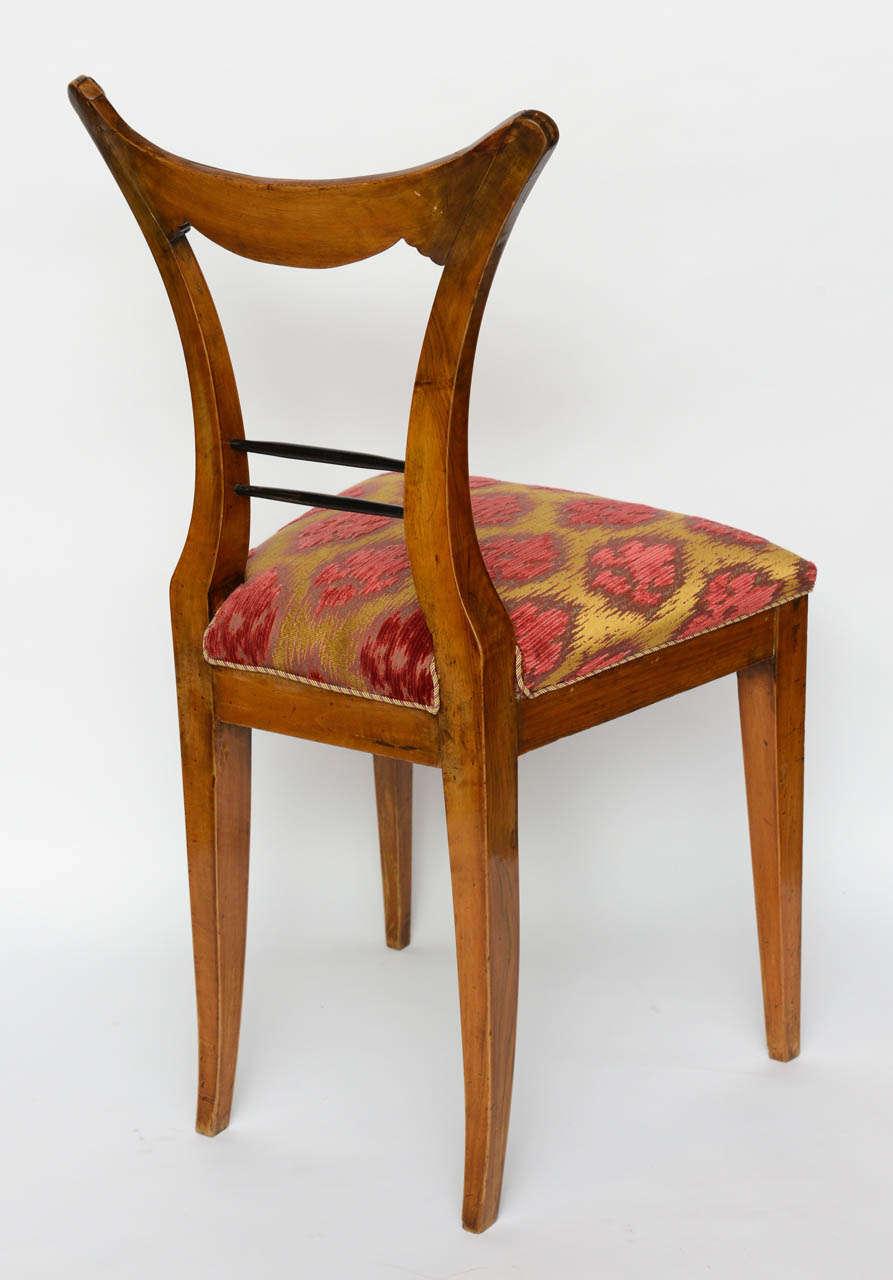 Fruitwood Set of Six Biedermeier Dining Chairs, Josef Danhauser, Vienna For Sale
