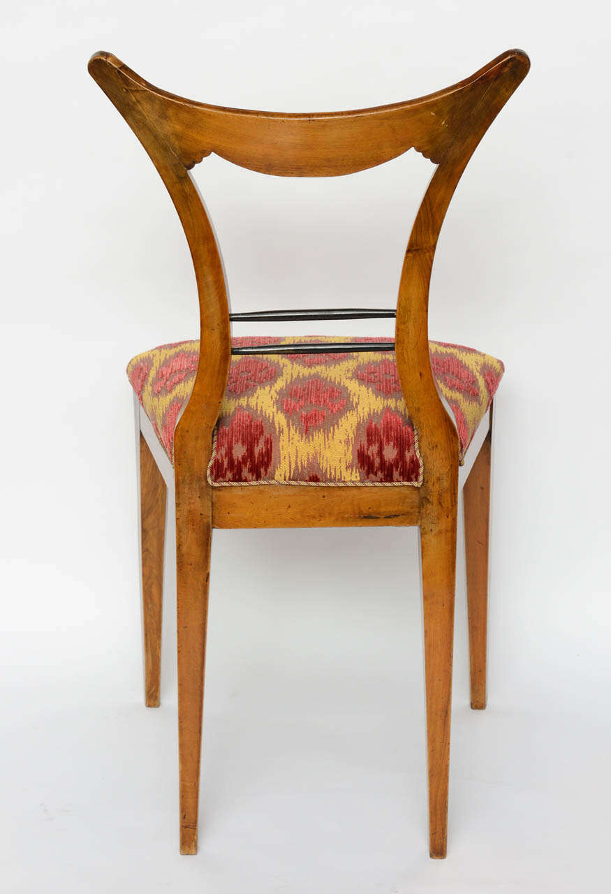 Set of Six Biedermeier Dining Chairs, Josef Danhauser, Vienna For Sale 1