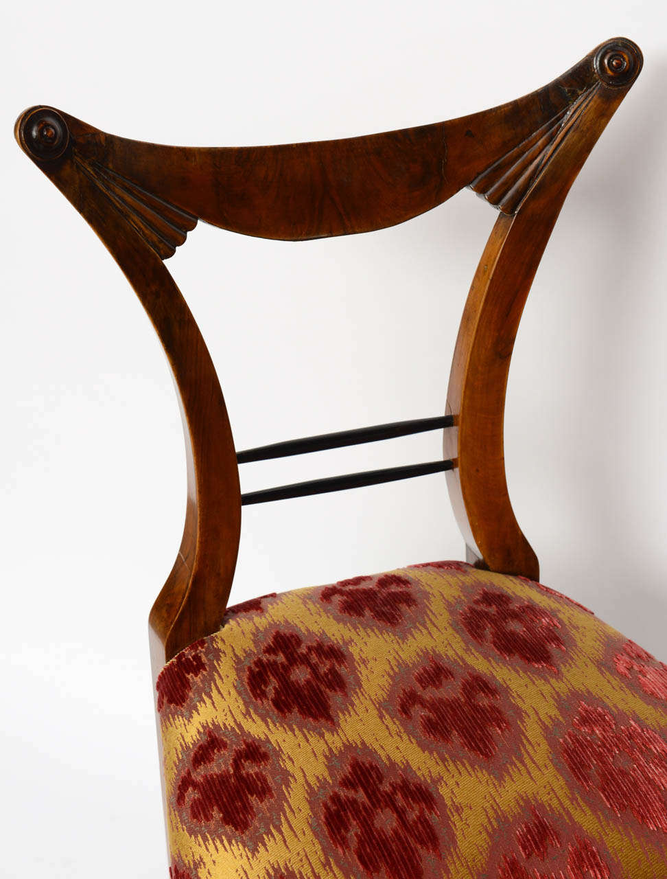 Set of Six Biedermeier Dining Chairs, Josef Danhauser, Vienna For Sale 2