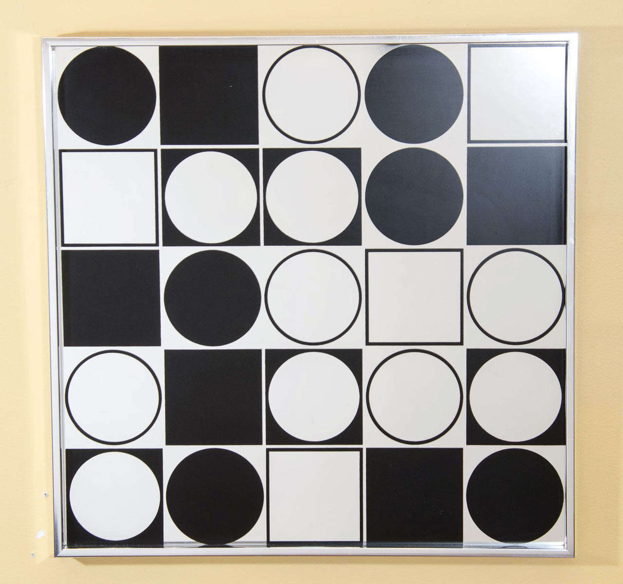 Mod Graphic Wall Mirror 2