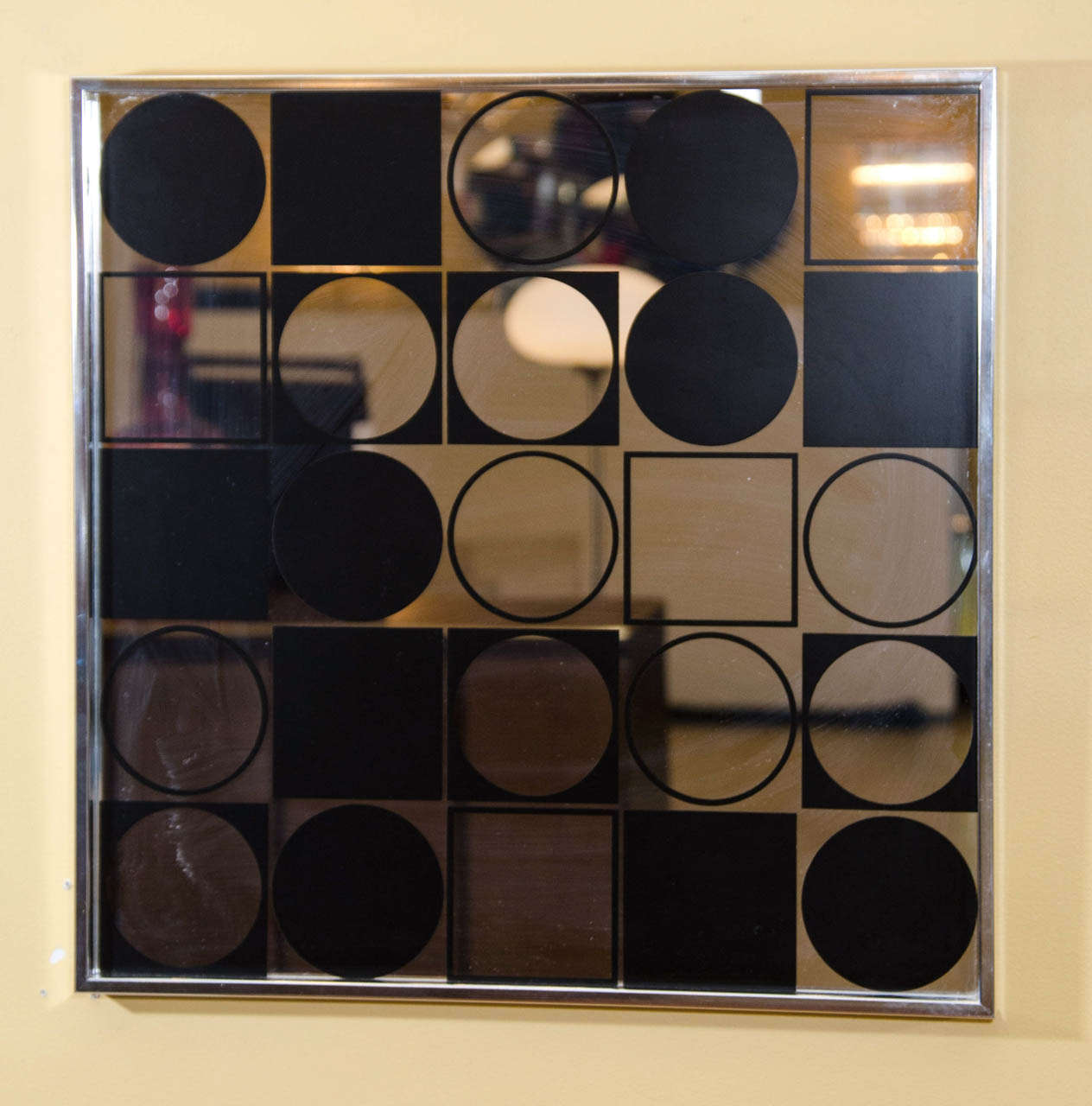Mod Graphic Wall Mirror 5