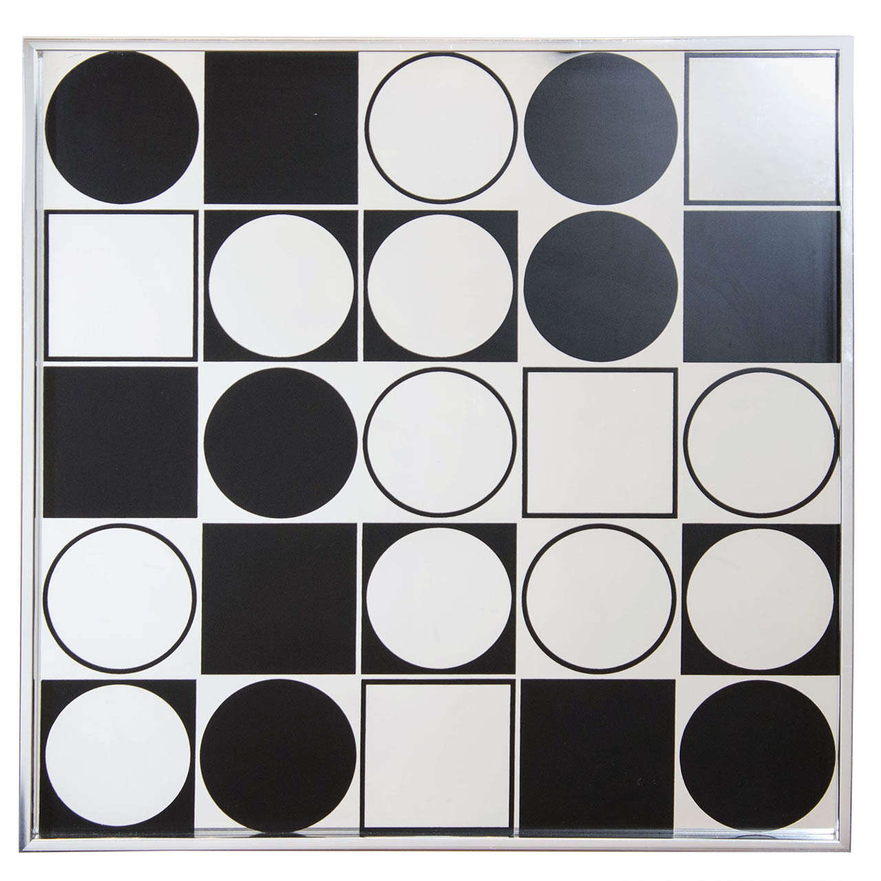 Mod Graphic Wall Mirror 1