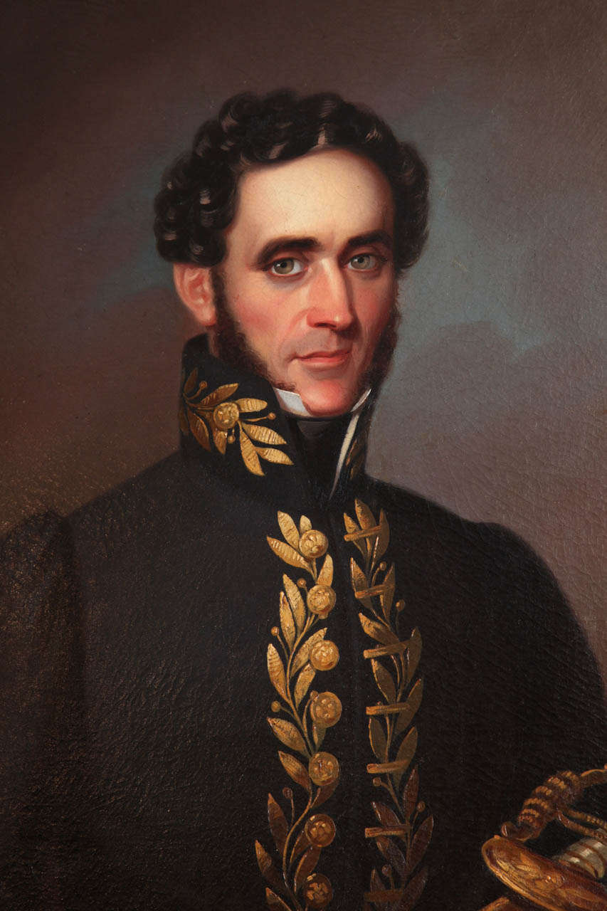 19th Century English Portrait In Good Condition For Sale In New York, NY