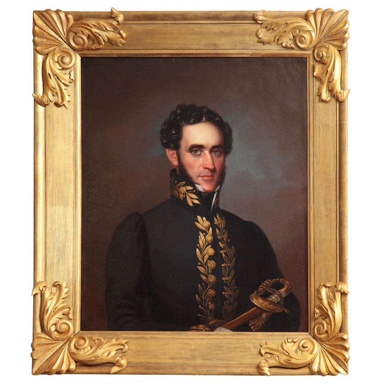 19th Century English Portrait For Sale