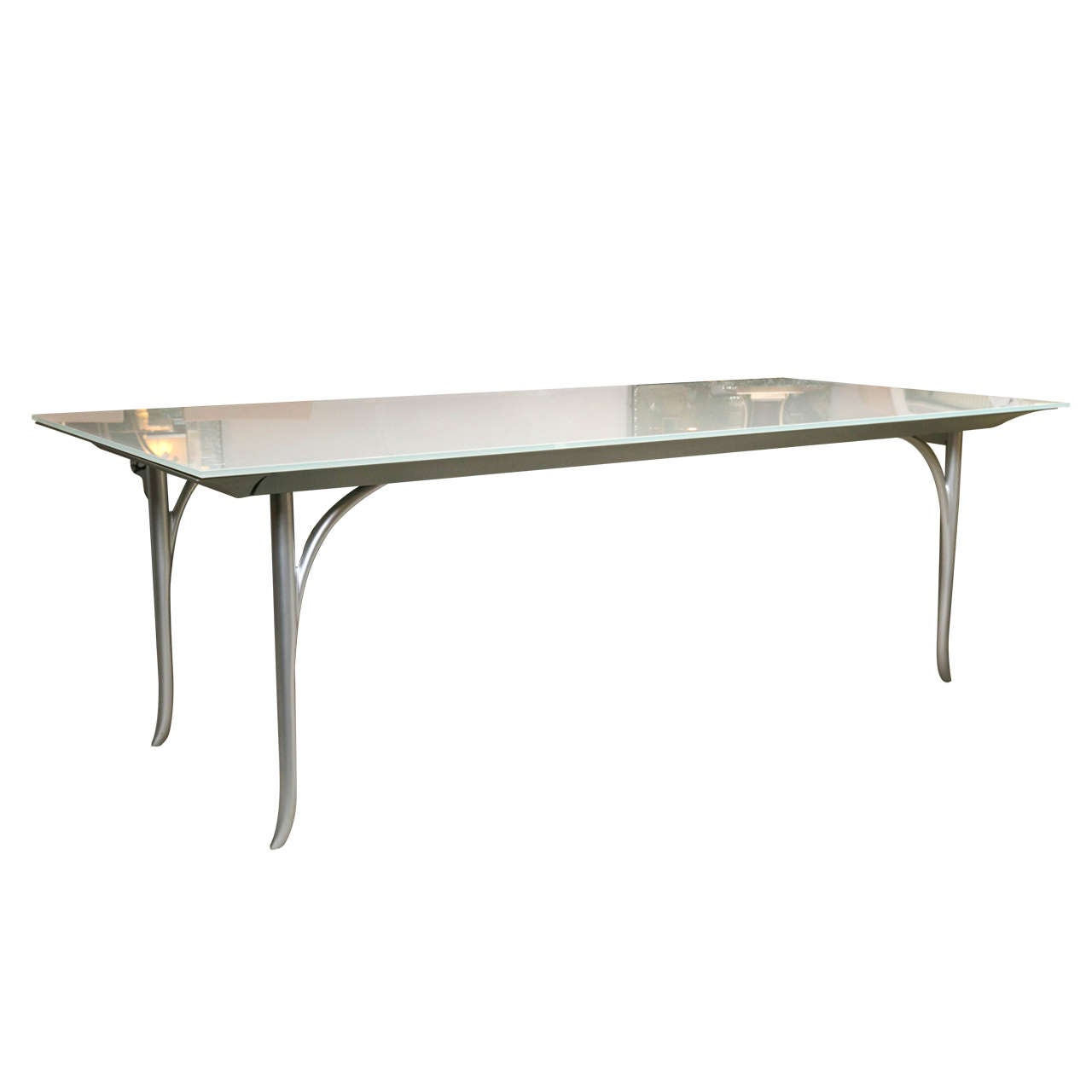 Roche bobois dining table with extendable leave at 1stdibs for Table marbre roche bobois