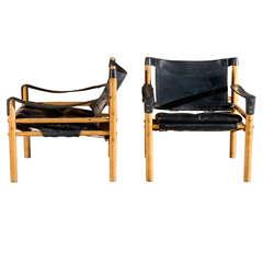 Arne Norell Safari Chairs