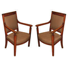 19th century Pair Directoire Armchairs