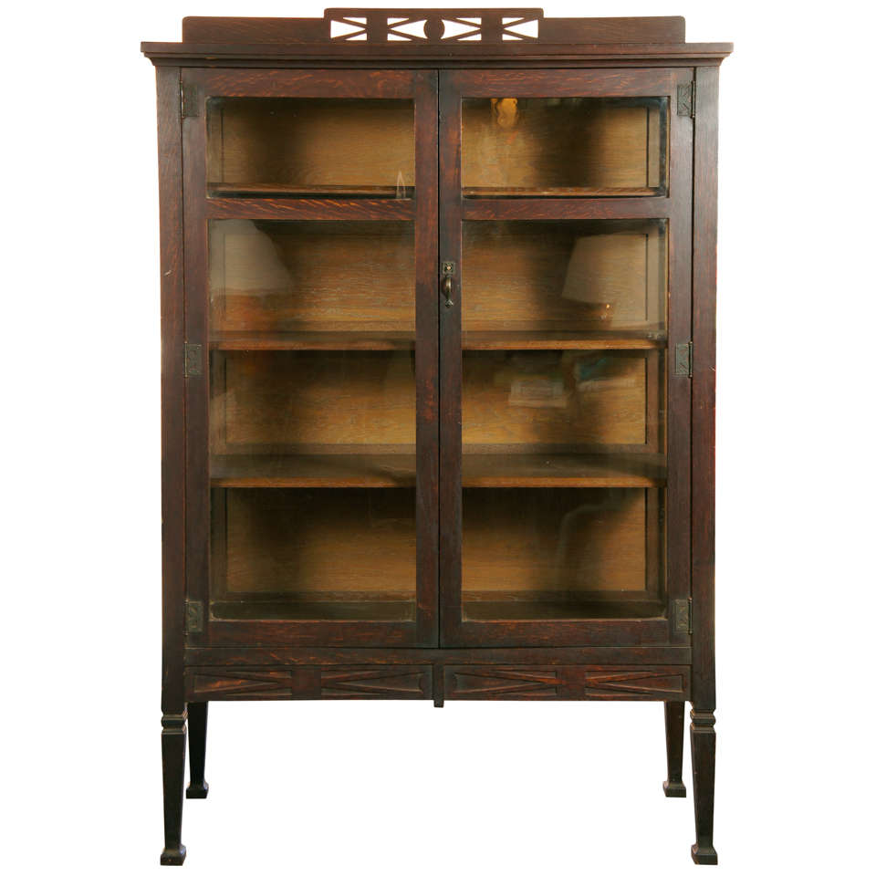 Stickley Bros Bookcase At 1stdibs