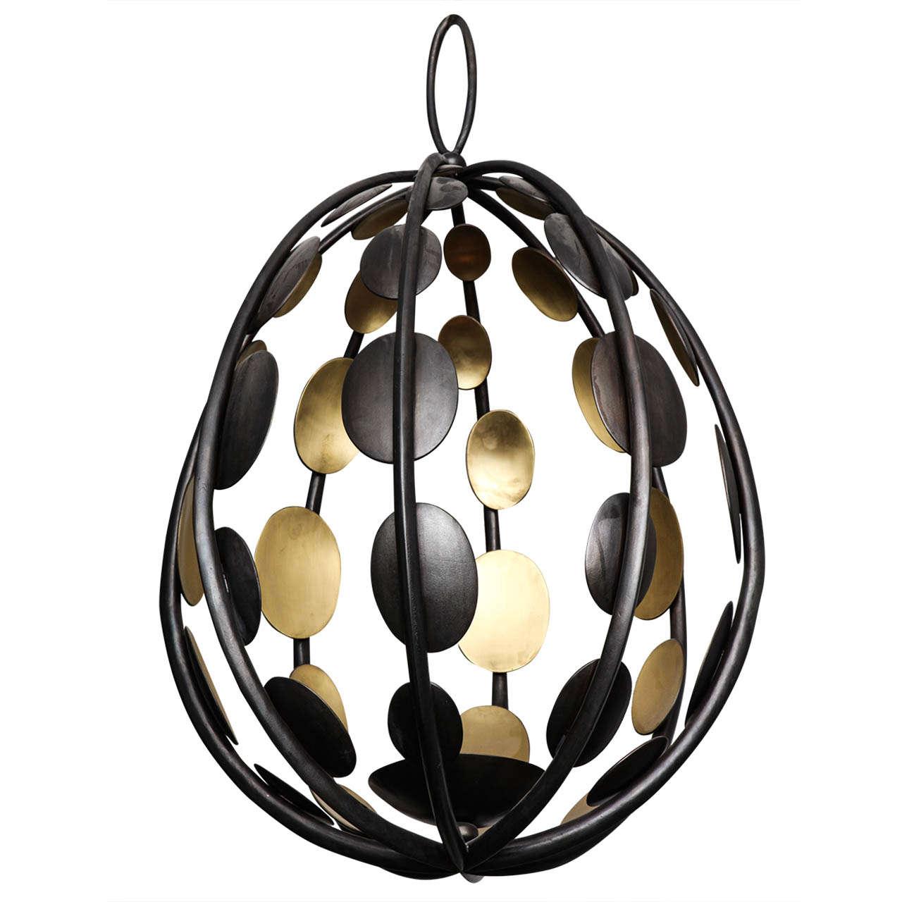 ellipse light fixture by herv van der straeten at 1stdibs. Black Bedroom Furniture Sets. Home Design Ideas