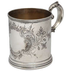 Aesthetic Movement Sterling Silver Baby Cup