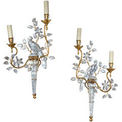 Two 1960s Sconces by Maison Baguès