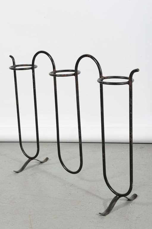 Mid-20th Century Jean Royère, Plant Stand For Sale