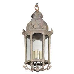 Napoleon III  Zinc Lantern
