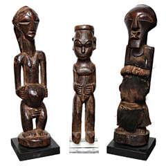 Carved Luba Figure
