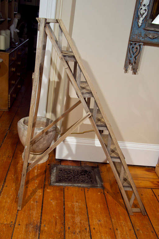 Gorgeous French Ladder At 1stdibs
