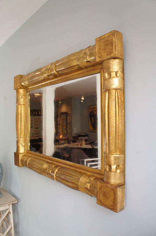 American Empire Over Mantle Mirror At 1stdibs
